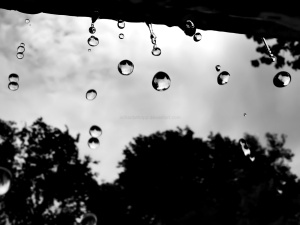 raindrops sorrow sad
